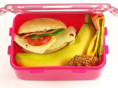 Lunch box, isolated