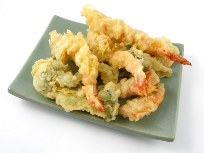 Tempura Vegetables & Prawns