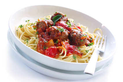 Quick & Easy Meatballs in Tomato Sauce